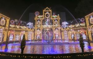 相模湖 イルミネーション 光の宮殿