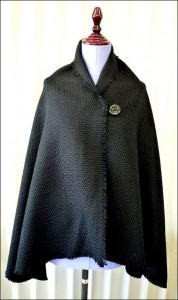 布製の手作りマント