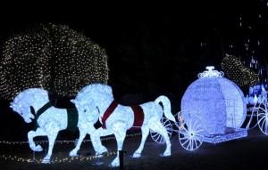 京都イルミエール カボチャの馬車