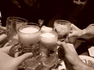 お酒 乾杯
