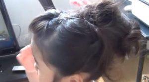 女の子 髪型 モヒカン風