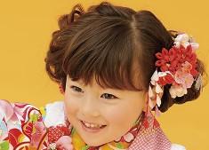 七五三 女の子 髪型 3歳