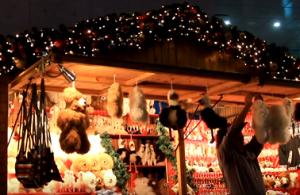 ドイツクリスマスマーケット 大阪 ヒュッテ