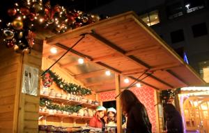ドイツクリスマスマーケット大阪 ヒュッテ