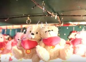 ドイツクリスマスマーケット大阪 クマ キーホルダー