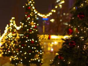 さっぽろホワイトイルミネーション クリスマスツリー