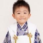 七五三で3歳の男の子の着物(袴、被布)やスーツの選び方。