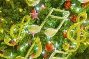 クリスマスツリー 音符 オーナメント