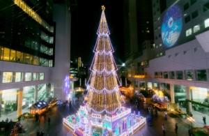 ドイツクリスマスマーケット大阪 クリスマスツリー