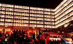 花園神社酉の市 奉納提灯