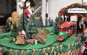 ドイツクリスマスマーケット大阪 クリスマストレイン