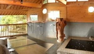 亀山湖 紅葉 温泉