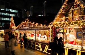 ドイツクリスマスマーケット大阪 屋台