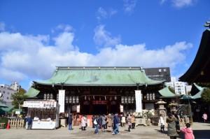 大阪天満宮 初詣