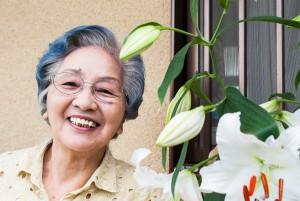 おばあちゃん ユリ