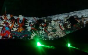 赤穂城 ライトアップ