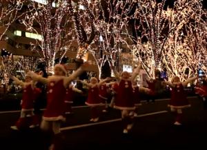 仙台光のページェント サンタクロース パレード