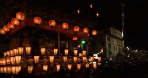 秩父夜祭り 団子坂
