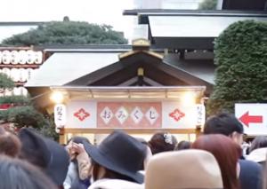 東京大神宮 参拝客