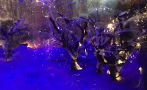 仙台うみの杜水族館 イルミネーション