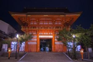 八坂神社 夜間