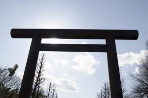 靖国神社 鳥居