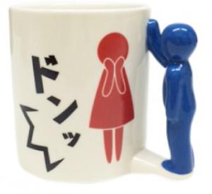 壁ドンマグカップ