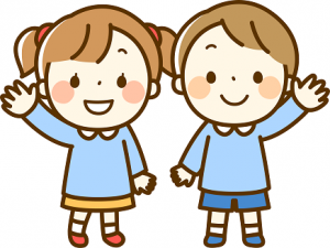 幼稚園児 イラスト