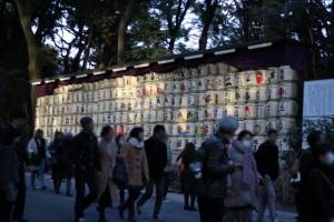 明治神宮 初詣 酒樽