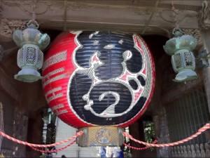 成田山新勝寺 巨大提灯