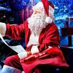 クリスマスサンタクロースの由来。服の色やトナカイの名前は?