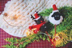クリスマス かわいい手作りオーナメント
