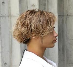髪型 ロン毛