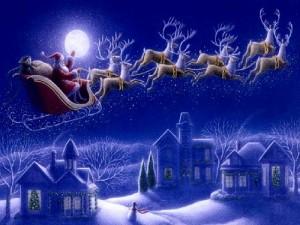 サンタクロース トナカイ クリスマス