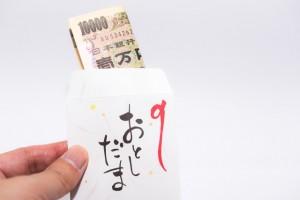 お年玉袋 一万円札