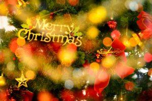 クリスマスツリー メリークリスマス