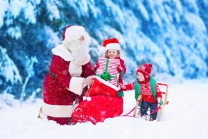 クリスマス サンタクロース 子供 プレゼント