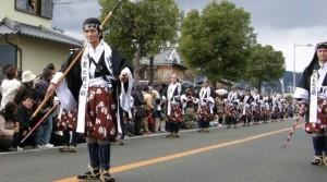 赤穂義士祭 パレード