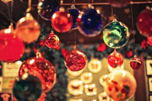 クリスマス オーナメント カラーボール