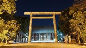 靖国神社 初詣 参拝