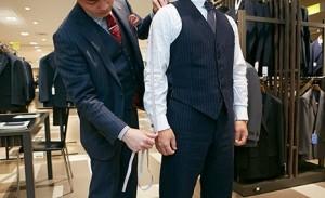 スーツ 寸法