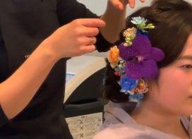 髪飾り 生花 セット