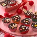 バレンタイン友チョコを可愛くラッピング!メッセージも入れて♪