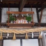 お正月の神棚の飾り方や期間。お供え物やしめ縄はいつまで?