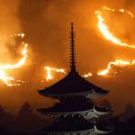 若草山の山焼き2018の日程と時間。花火の見どころスポットは?