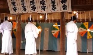 吉田神社 節分祭 抽選会