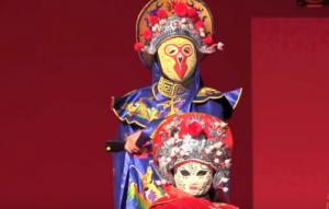 長崎ランタンフェスティバル 中国変面ショー