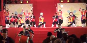 長崎ランタンフェスティバル 琉球國祭り太鼓
