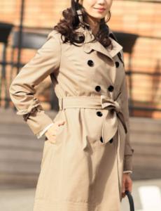 女性 コート ベージュ