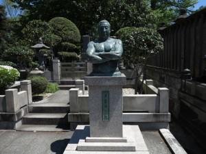 池上本門寺 力道山 銅像